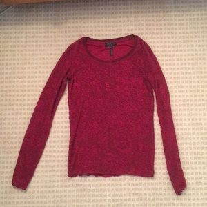 Red rag and bone long sleeved